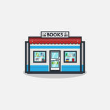 Book store illustration Royalty Free Stock Image