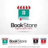 Book Store Logo Template Design Vector