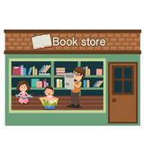 Book store vector Stock Images
