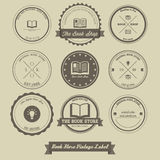 Book Store Vintage Label Royalty Free Stock Image