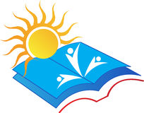 Book sun Stock Image