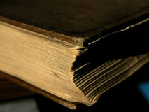 Book in the Sunlight. Book with sunlight streaming in. Symbolic of education and learning royalty free stock photos