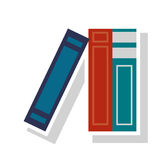 Book supply for school design Royalty Free Stock Images