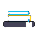 Book supply for school design Royalty Free Stock Photography
