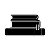 Book supply for school design Stock Photos
