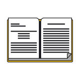 Book supply for school design Royalty Free Stock Photo