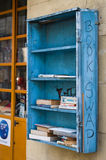 Book swap. In Avignon, little town in France royalty free stock images