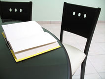 Book on Table Royalty Free Stock Images