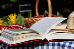 Book on table Stock Photography