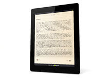 Book tablet Stock Images