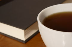 Book and tea Royalty Free Stock Photos