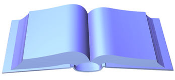 A book template Royalty Free Stock Photo