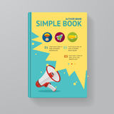 Book Template. Vector Stock Images