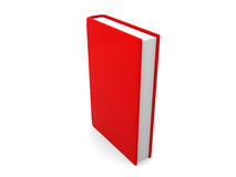 Book template on white background Stock Photography
