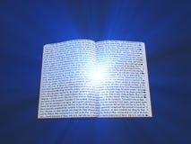 Book text and light Stock Photos