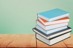 Book. Text Stack Publication Stacking Education Text Royalty Free Stock Images