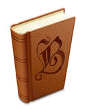 Book. Textured cover. Highly detailed illustration of textured cover book Stock Photos