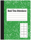 Book Time Attendance Royalty Free Stock Images