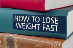 How to lose weight fast royalty free stock image
