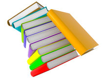 Book Tower Royalty Free Stock Photos