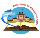 Book travel city Stock Photo