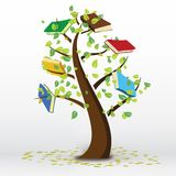 Book Tree Royalty Free Stock Images
