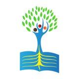 Book tree Stock Image