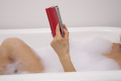 Book tub Royalty Free Stock Image