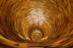 Book Tunnel Stock Image