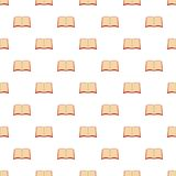 Book university pattern seamless. In flat style for any design Royalty Free Stock Photography