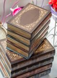 Book with anice decorative cover Stock Images