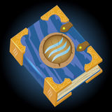 Book of Water Magic Royalty Free Stock Image