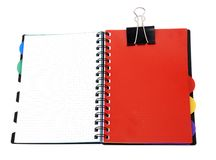 Book on white background Royalty Free Stock Photo