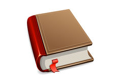 Book. On white background Stock Illustration