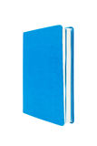 Book on white ,blue color Royalty Free Stock Image