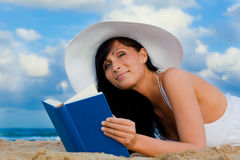 Book woman Stock Photos