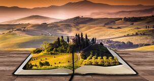 Book, Writer, Read, Landscape Stock Photos