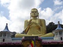 Statue of buddha dambulla in Sri Lanka royalty free stock photo