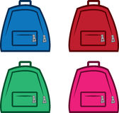 Bookbag Colors Royalty Free Stock Image