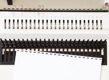 Bookbinding конторских машин стоковое фото rf