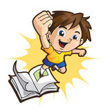BookBoy Royalty Free Stock Photo