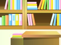 Bookcase Stock Photo