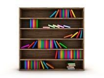 Bookcase Royalty Free Stock Photo