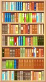 Bookcase Fotografia Royalty Free