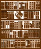 Bookcase Royalty Free Stock Image