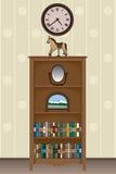 bookcase Foto de Stock Royalty Free
