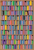 Bookcase background Royalty Free Stock Photo