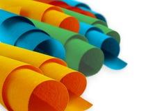 Bookcloth colorato Fotografia Stock Libera da Diritti