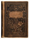 bookcover τρύγος στοκ εικόνες