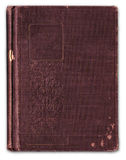 Bookcover gravado vintage anulado Fotografia de Stock